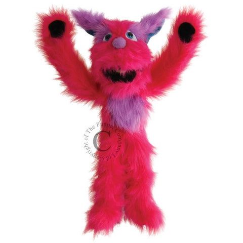Pink Monster Puppet by Puppet Company