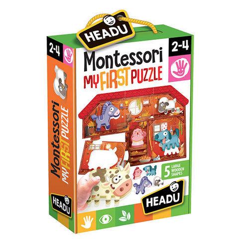 Montessori - My First Puzzle The Farm