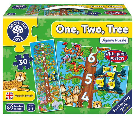 One, Two, Tree Orchard Toys
