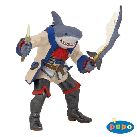 Papo Mythical Creatures - Shark Mutant Pirate