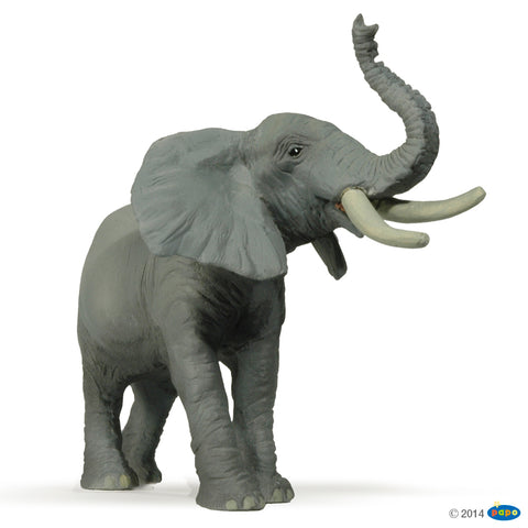 Papo Wild Animals - Trumpeting Elephant