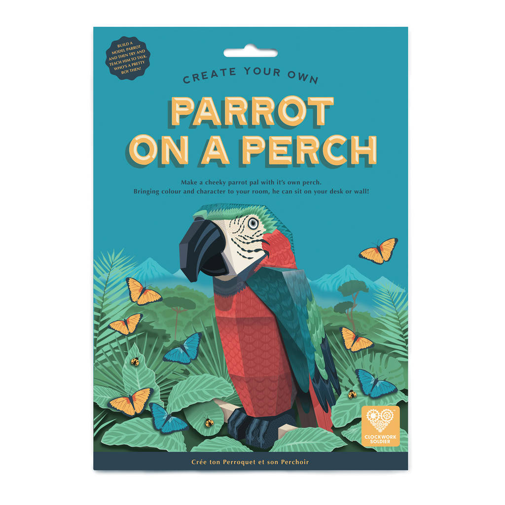 Build a Parrot on a Perch Kit