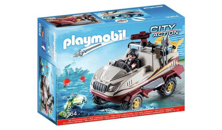 Playmobil City Action Amphibious Truck - 9364