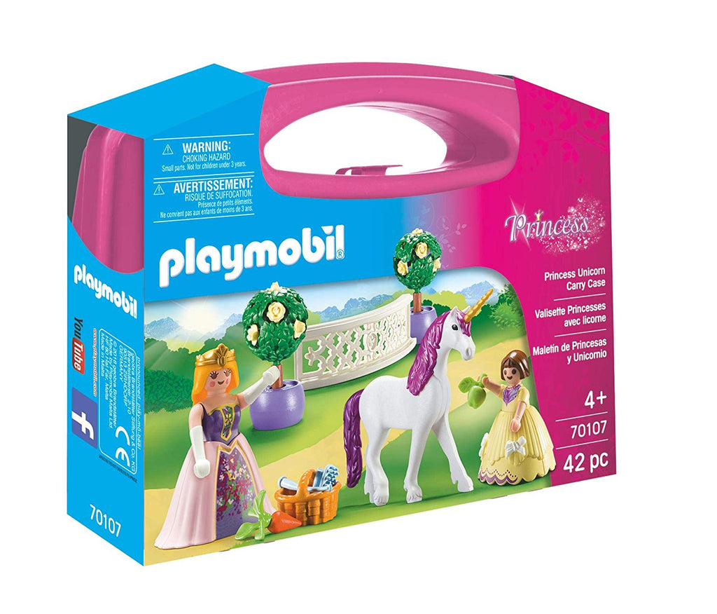 Playmobil Fairies - Princess Unicorn Carry Case 70107