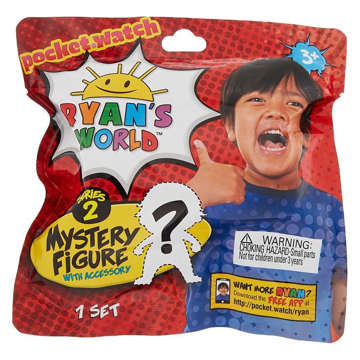 Ryan's World Mystery Figures