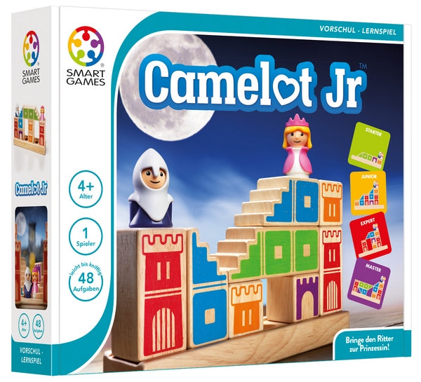 Camelot JR. - brainteaser challenges game