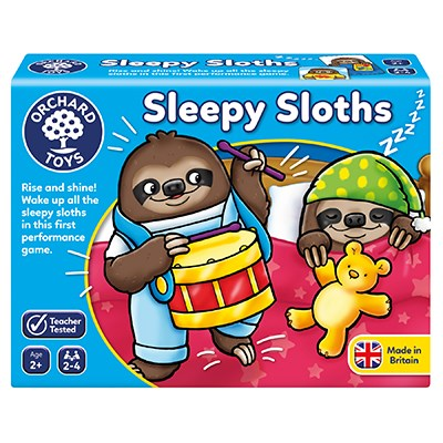 Sleepy Sloth - Educational Game by Orchard Toys
