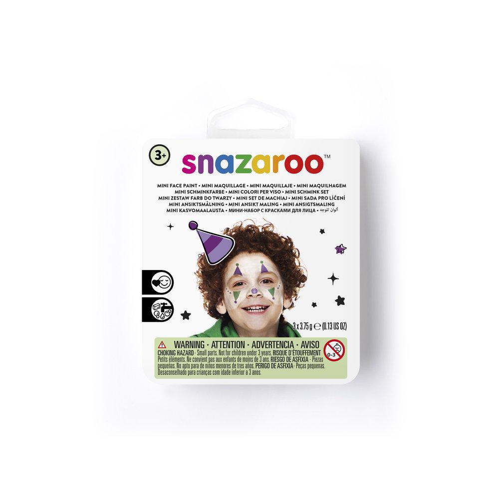 Snazaroo Jester Mini Face Paint Kit - D180507