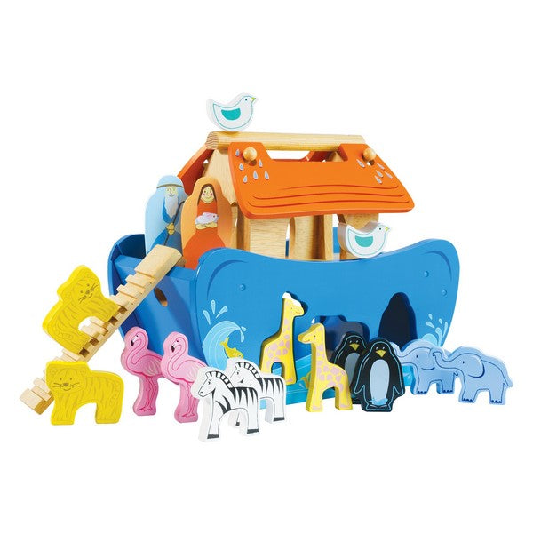 Wooden Noah's Ark Shape Sorter by Le Toy Van