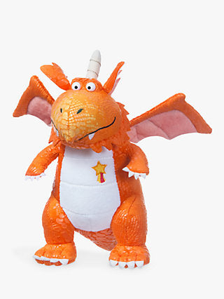 Zog the dragon cuddly toy