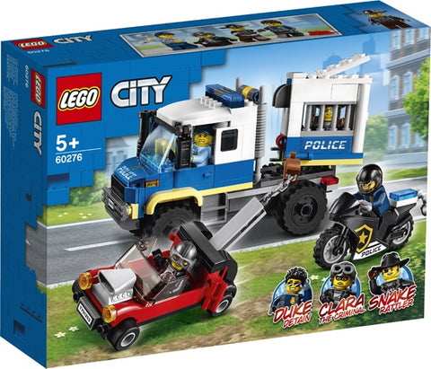 Lego City -  Police Prisoner Transport 60276