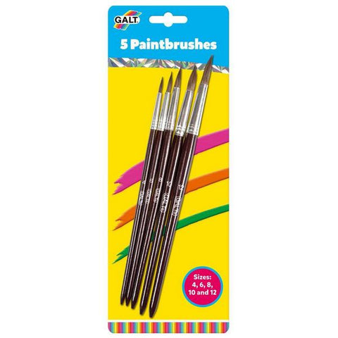 5 Paintbrushes