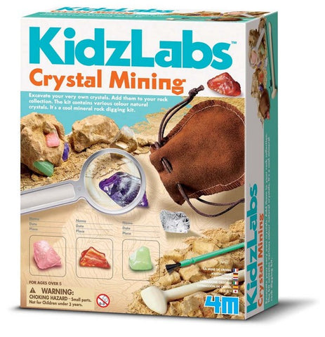 Crystal Mining - excavation activity set for kids