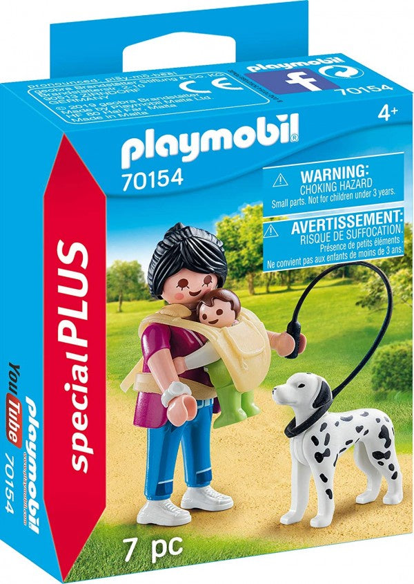 Playmobil Special - Mother with Baby and Dog - 70154