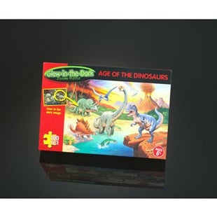 Age Of The Dinosaur Glow in the Dark Puzzle