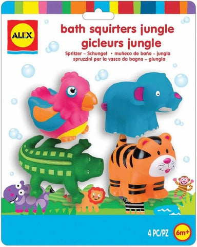 Bath Squirters - Jungle Animals