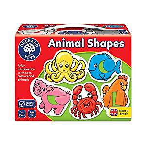 Animal Shapes Game by Orchard Toys