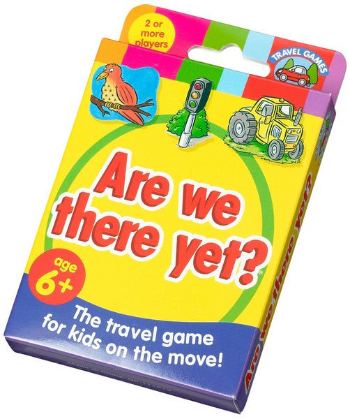 Are We There Yet? - Children's Card Game