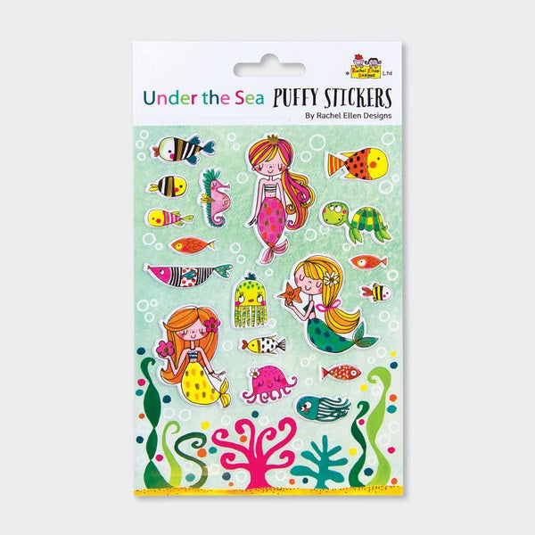 Puffy Stickers - Under the Sea