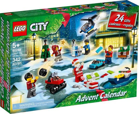 Lego City 2020 Advent Calendar - 60268
