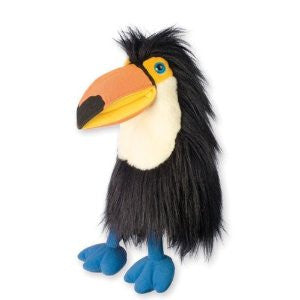 Baby Toucan Puppet by Puppet Company