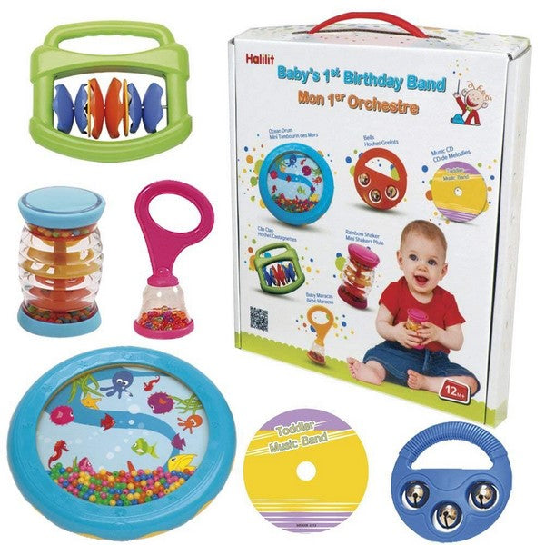 Baby's First Birthday Band - Musical Toys gift set