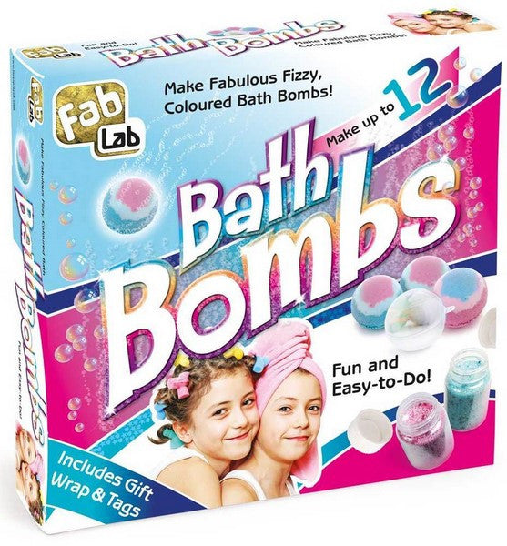 Bath Bomb Factory Science Kit by Interplay