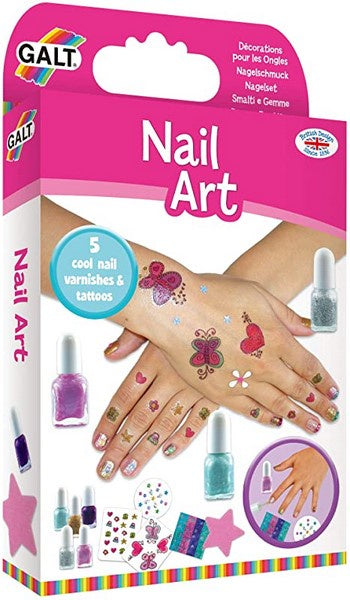 Nail Art - Nail Varnish and Tattoos