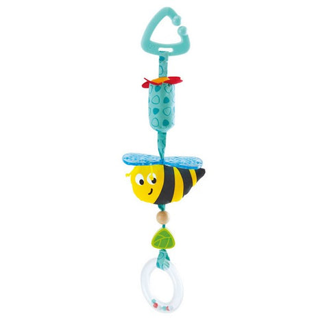 Bumblebee Hanging Rattle - Pram Toy for Babies