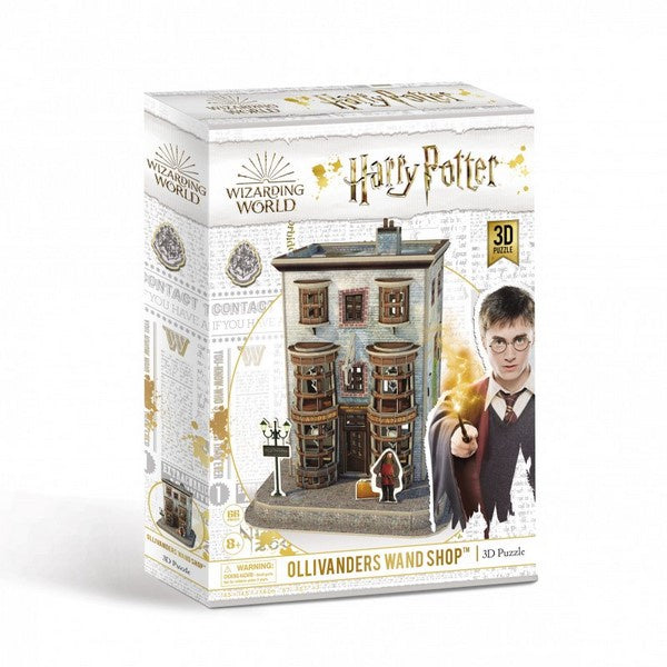 Harry Potter 3D puzzles Diagon Ally Olivanders Wand Shop