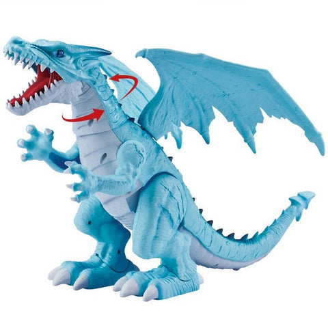 Robo Alive Roaring Blue Dragon
