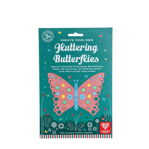 Fluttering Butterflies: Create Two Flapping Butterflies