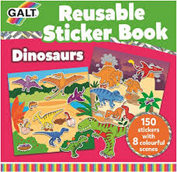 Reusable Sticker Book - Dinosaurs
