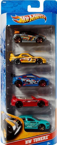 Hotwheels 5 Car Gift Set