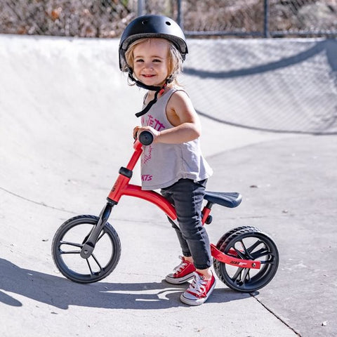 2 IN 1 BALANCE BIKE (Red)