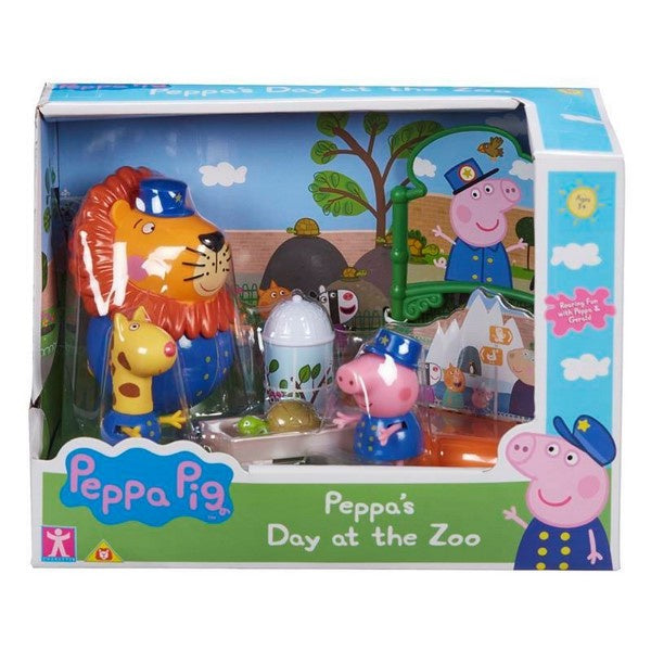 PEPPA PIG PLAYSET - Peppa's Day At The Zoo