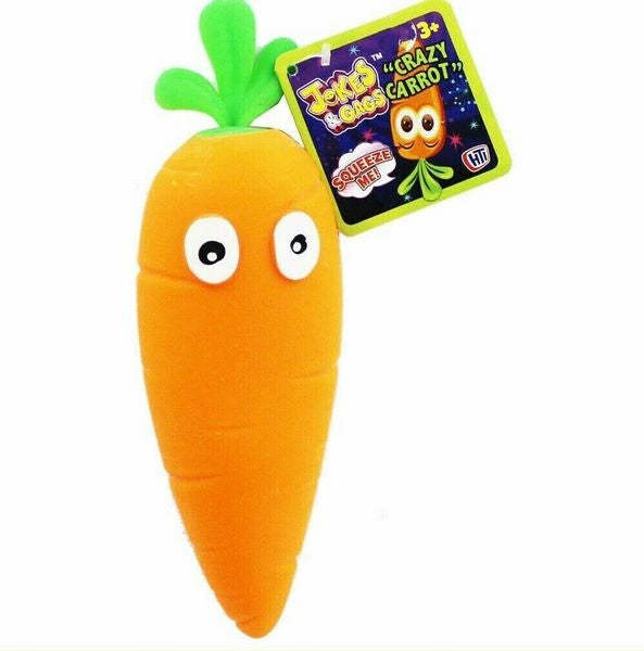 Crazy Carrot squishy toy