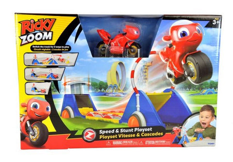 Ricky Zoom Speed & Stunt Playset