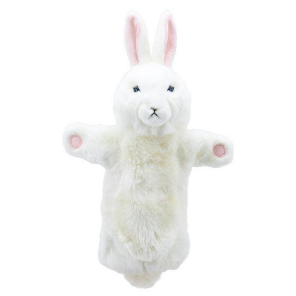 Long-Sleeves Rabbit (White) hand puppet
