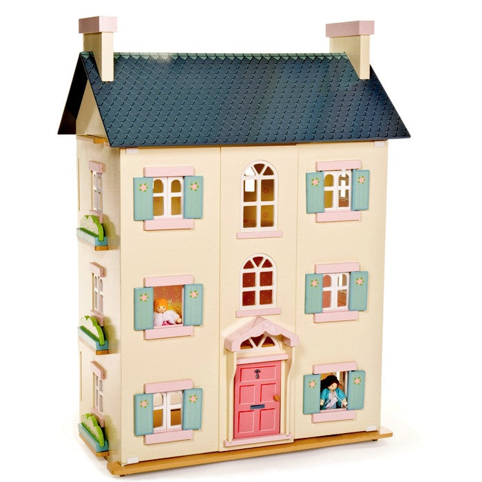 Cherry Tree Hall - large wooden dolls house by Le Toy Van
