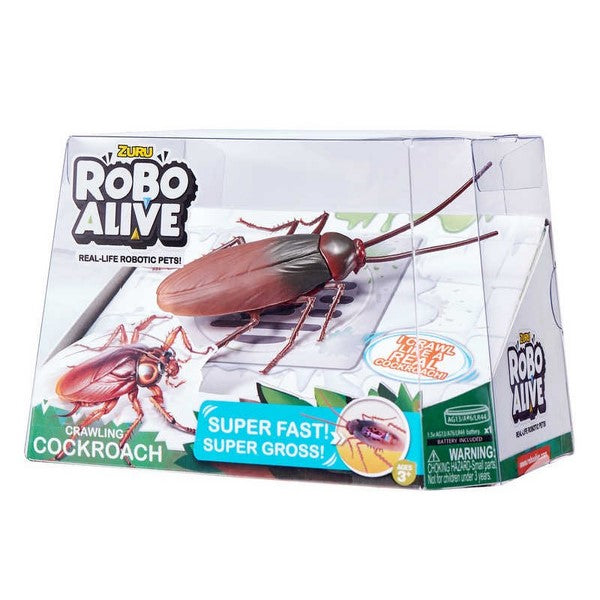 Robo Alive Crawling Cockroach