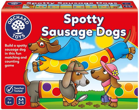 Spotty Sausages Dogs - matching game