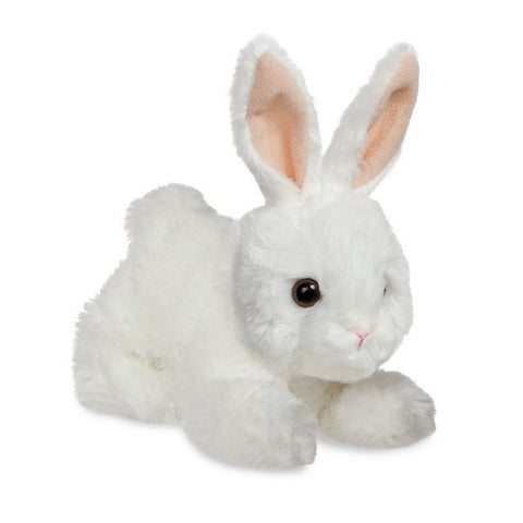 Baby Bunny (white) Mini Flopsy soft toy 8""