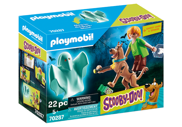 Playmobil  SCOOBY-DOO! Scooby and Shaggy with Ghost - 70287