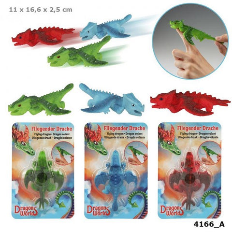 Dino World Flying Dragon rubber toy