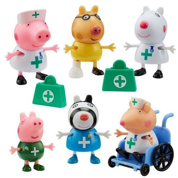 Peppa Pig Doctors & Nurses Figure Pack
