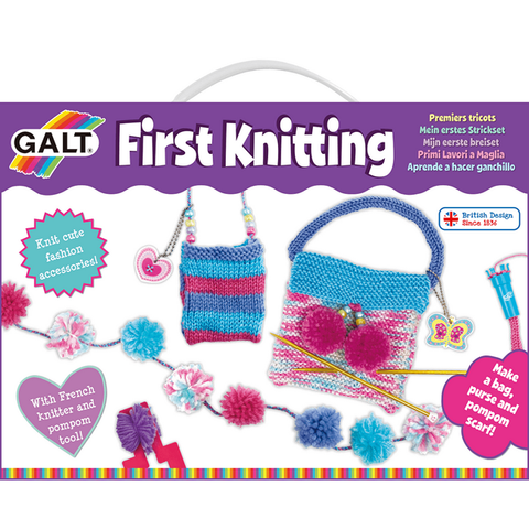 First Knitting -  children's knitting set