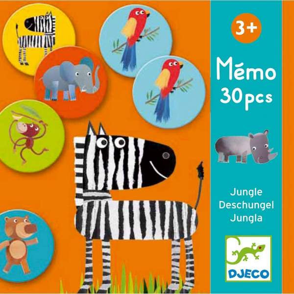 Memory Game - Jungle Pairs