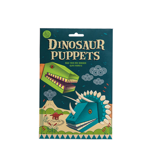 Create your own Dinosaur Puppet kit