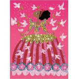 Djeco Art for Kids Glitter Dresses.  DJ09500